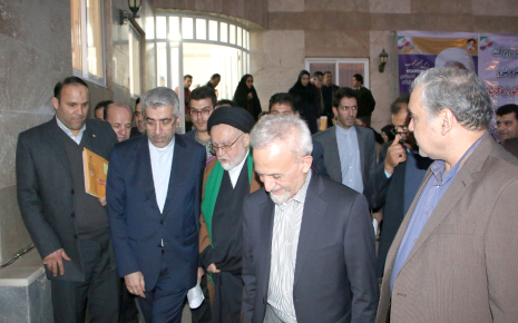 بازدید وزیر محترم نیرو از طـرح آبرسـانی به شهرهـا و روستـا های نوار مـرزی استـان گلستـان